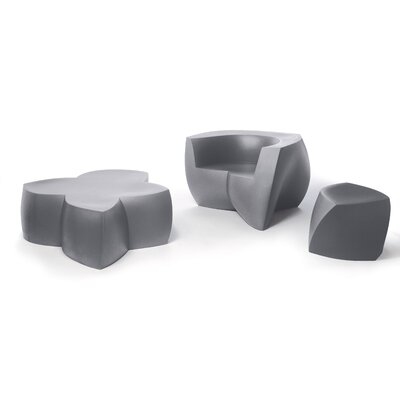 Heller Frank Gehry 3 Piece Bench Seating Group