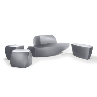 Heller Frank Gehry 4 Piece Bench Seating Group