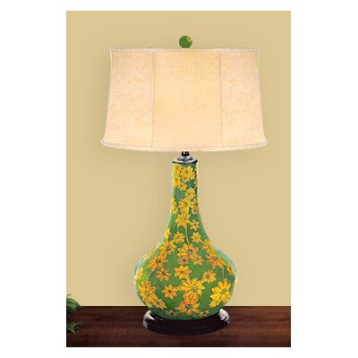 JB Hirsch Home Decor Daisy Table Lamp