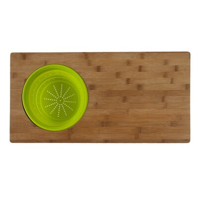 Over The Sink 2-in-1 Cutting Board in One Tone