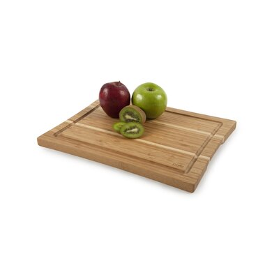 Core Bamboo Daffodil Medium Cutting Board in Two Tone