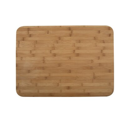 Core Bamboo Pro Chef Lotus Large Chop Block in Natural