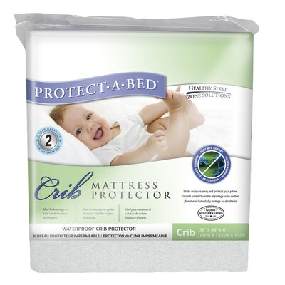 Protect-A-Bed Premium Fitted Sheet Style Crib Protector