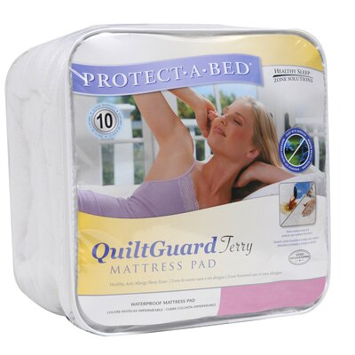 Protect-A-Bed Cotton Quilt Guard Fitted Sheet Style Mattress Protector