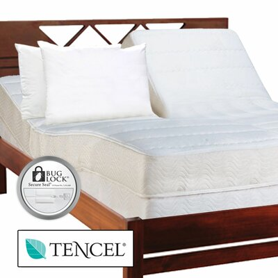 Protect A Bed Allerzip Smooth Encased Mattress Protector