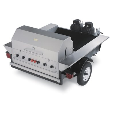 Crown Verity Tailgate Propane Gas Grill