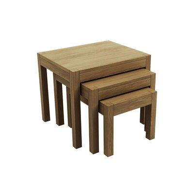 Elements Simplicity 3-Piece Nest of Tables Set in Oiled