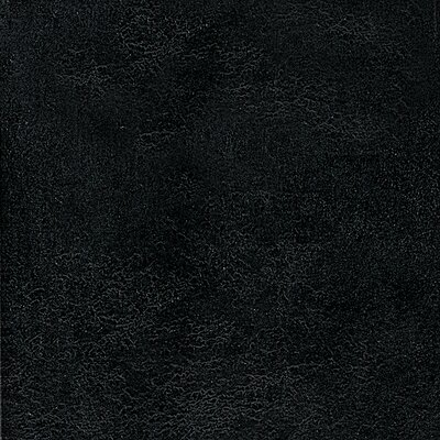 "Congoleum DuraCeramic Heirloom 15.63"" x 15.63"" Vinyl Tile in Ebony Black"