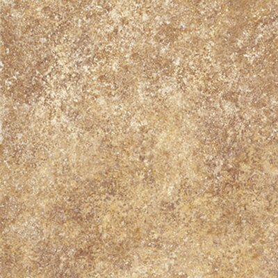 "Congoleum Ovations  Stone Ford 14"" x 14"" Vinyl Tile in Golden Clay"