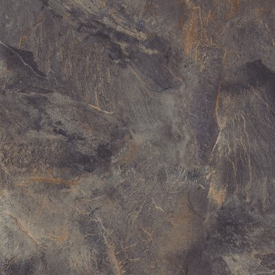 "Congoleum DuraCeramic Village Slate 15.63"" x 15.63"" Vinyl Tile in Stormy Night"