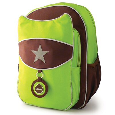 Milkdot Top Kat Backpack in Lime