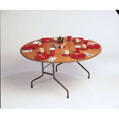 Correll, Inc. Melamine Top Round Folding Table