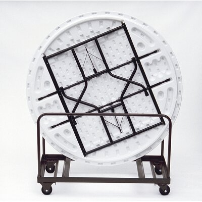 Correll, Inc. Round Edge Stacking Table Dolly
