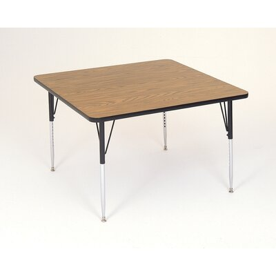 Correll, Inc. Square Activity Table with Short Legs