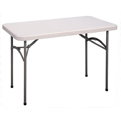 Correll, Inc. 4' Economy Plastic Rectangular Folding Table