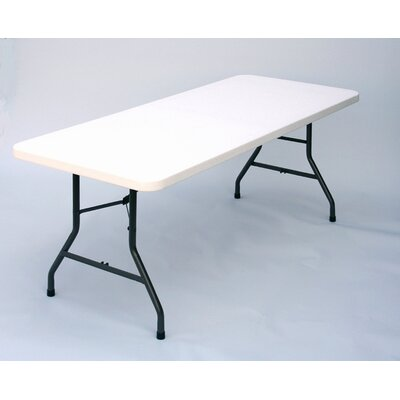 Correll, Inc. Fold in Half Plastic Folding Table