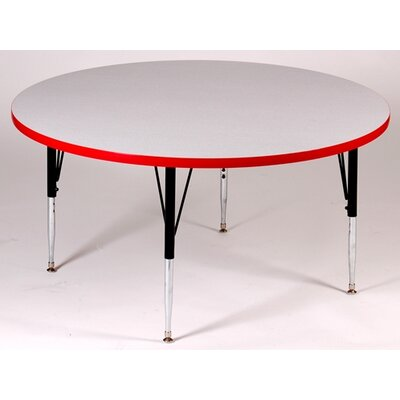 Correll, Inc. Round Activity Table with Grey Granite Top