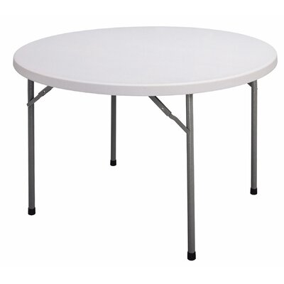 "Correll, Inc. 48"" W Round Folding Table"