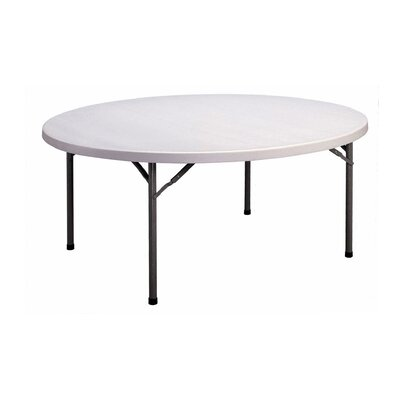 "Correll, Inc. 71"" W Round Folding Table"