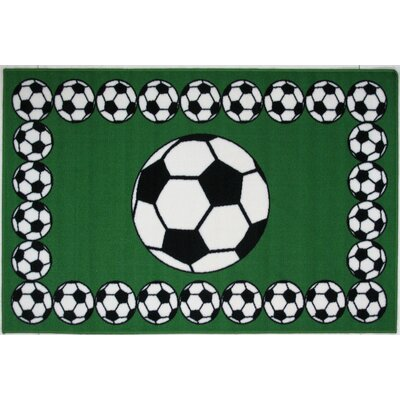 Fun Rugs Fun Time Soccer Time Kids Rug
