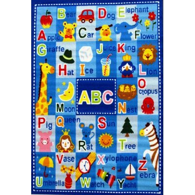 Fun Rugs Fun Time Letters and Names Kids Rug