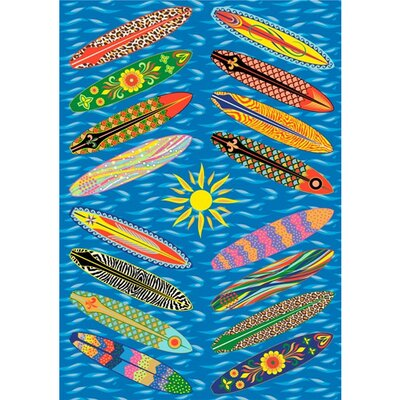 Fun Rugs Supreme Go Surfing Kids Rug