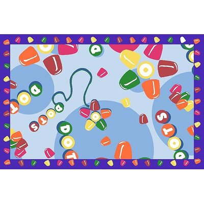 Fun Rugs Tootsie Roll Dots Kids Rug