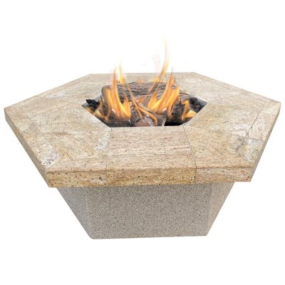 calflame hexagon gas pit allmodern