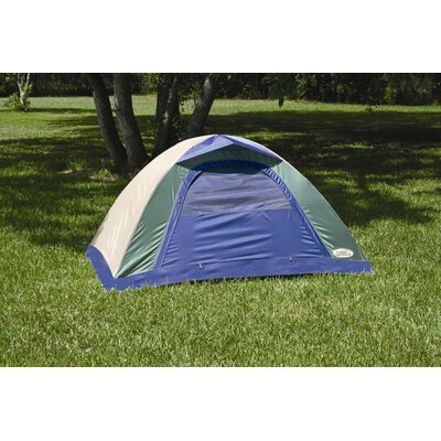 Texsport Brookwood Internal Frame Tent in Legion Blue / Gray Sand / Wasabi