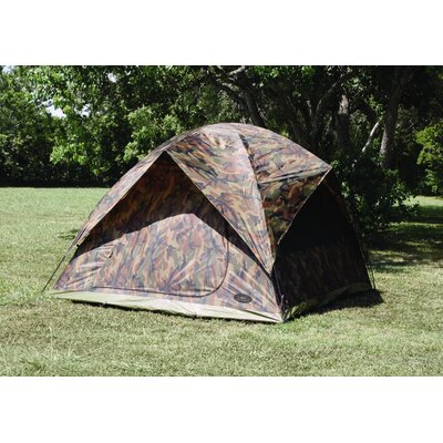 Texsport Headquarters Square Dome Tent in Camouflage
