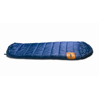 Texsport Olympia Mummy Sleeping Bag in Navy Blue