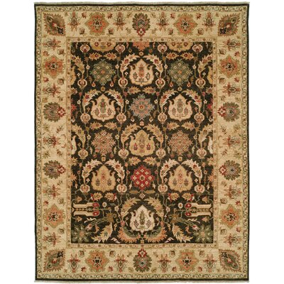 Shalom Brothers Royal Zeigler Black/Beige Rug