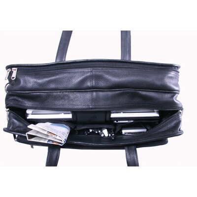 Leatherbay Cambridge Leather Laptop Briefcase