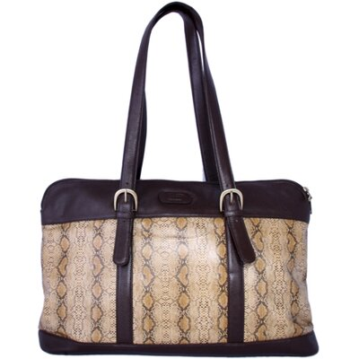 Leather Laptop Case Tote Bag