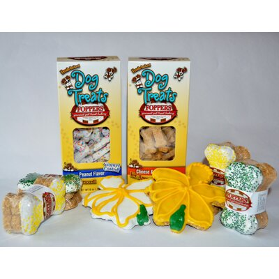 "Foppers ""Daffodils in Bloom"" Dog Treat Gift Set (158-Pack)"