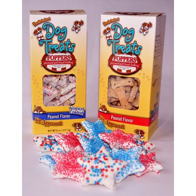 "Foppers ""Patriotic"" Dog Treat Gift Set (156-Pack)"