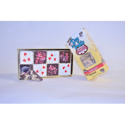 "Foppers ""Sweethearts Bark"" Valentine Gift Set Dog Treat (94 Pieces)"