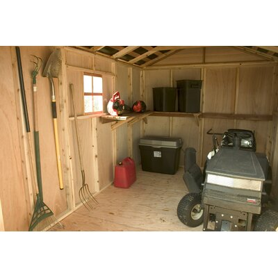 Outdoor Living Today SpaceMaker Wood Storage Shed