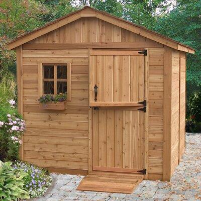 Outdoor Living Today Gardenerft.s 8ft. W x 8ft. D Wood Garden Shed