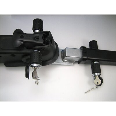 Heininger Holdings LLC HitchMate 1.25'' Hitch Lock and 2'' Trailer Lock Set