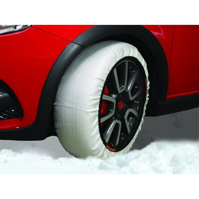 Heininger Holdings LLC Winter Textile Tire Traction Snow Donut (Set of 2)