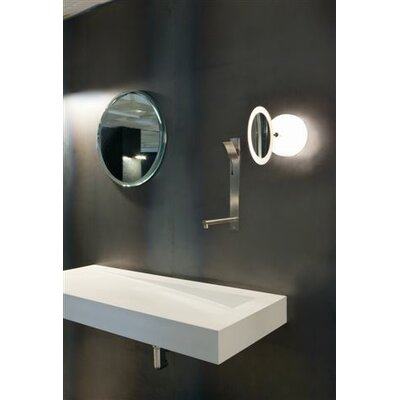 Marset Espejito Magnifying Mirror 1 Light Wall Sconce