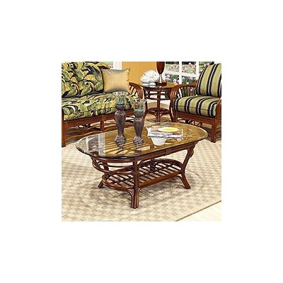 Boca Rattan Amarillo Coffee Table
