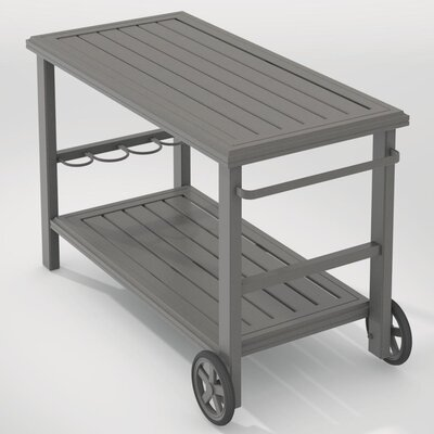 Tropitone Banchetto Bar Serving Cart