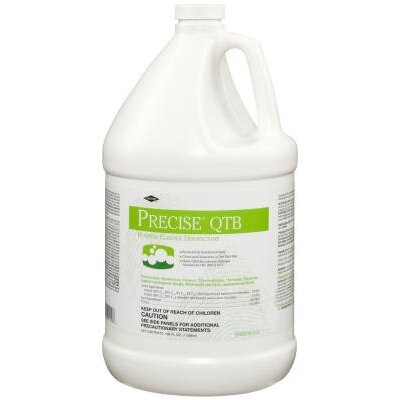 CALTECH® 1 Gallon Precise QTB One Step Disinfectant Neutral Scent Refill Bottle