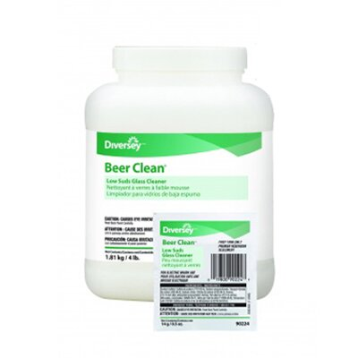 DIVERSEY™ 4 lbs Container Beer Clean Glass Cleaner
