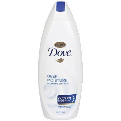 DOVE® 24 Oz Deep Moisture Nourishing Body Wash in White
