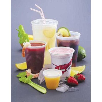 FABRI-KAL® 10 Oz Drink Cups in Clear