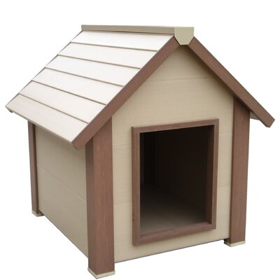 New Age Pet EcoConcepts Hi-R Super Insulated Canine Cottage Dog House
