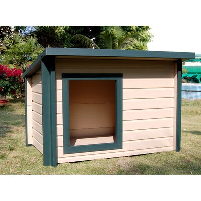 New Age Pet ecoChoice Rustic Lodge Style Dog House